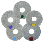 "SPINERGY PAD - Stone 20"" Set of 5"