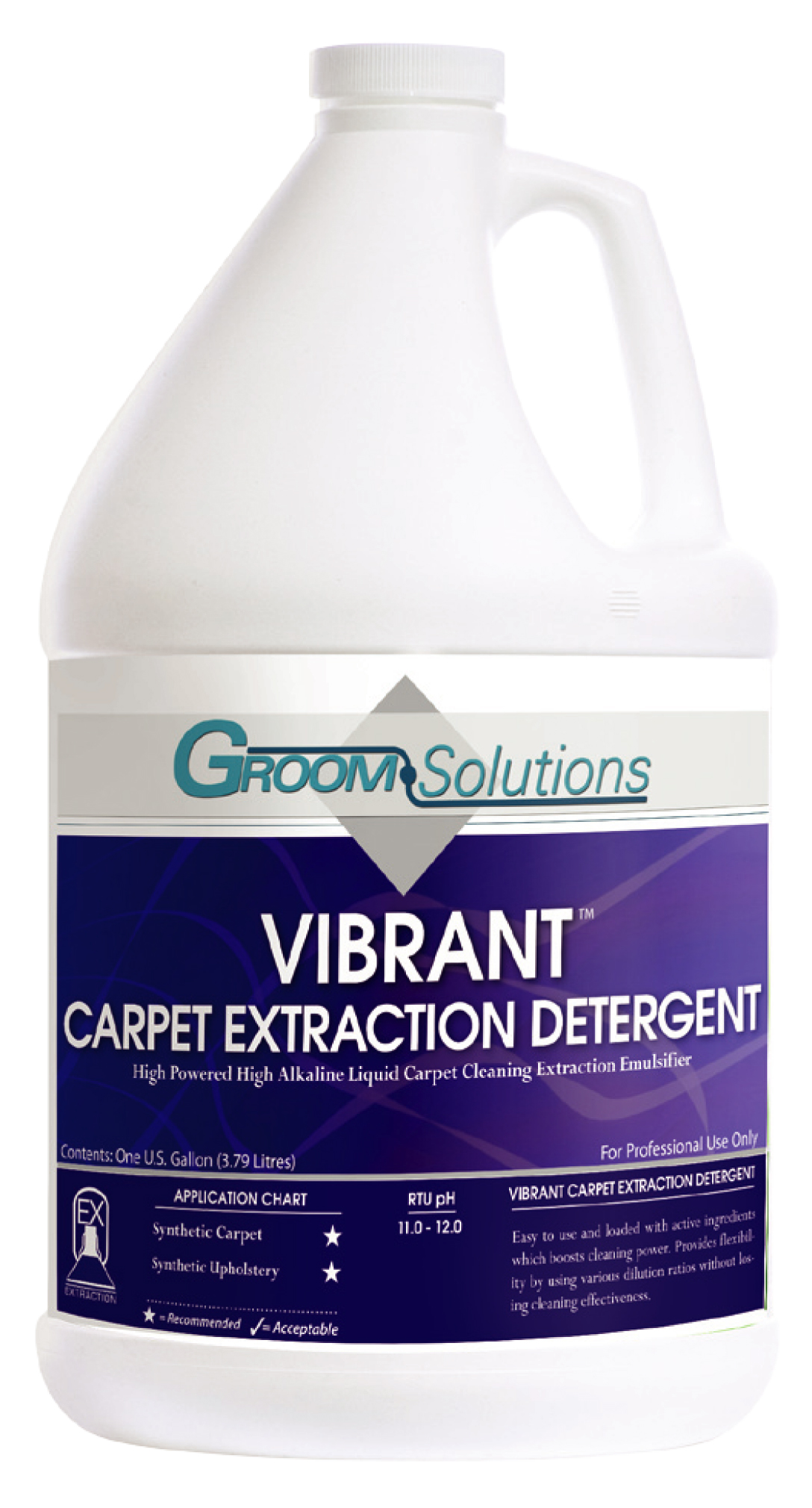 VIBRANT CARPET EXTRACTION DETERGENT - Click Image to Close
