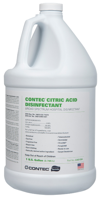 Citric Acid Disinfectant