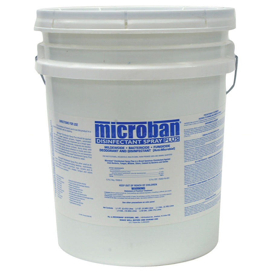 Microban Disinfectant Spray Plus - Pail
