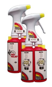STAIN MAGIC DUAL SPRAYER & BOTTLE